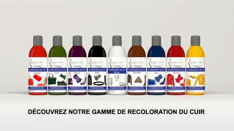 Produits Coloration Cuir